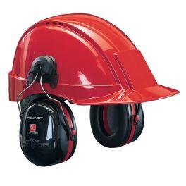 3M Peltor Optime III - Helmbefestigung