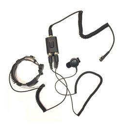 Micro-Headset mit Kehlkopfmikrofon Motorola