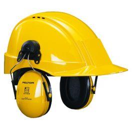 3M Peltor Optime I H510P3EB Kapselgehörschutz mit Helmbefestigung in gelb