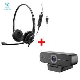 Pack:  EPOS EXPAND SC260 II USB MS + Webcam USB HD 90 Pro