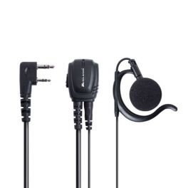 Midland BA21: Kenwood 2 Pin Headset Mikrofon