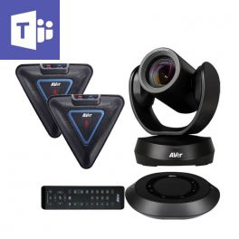AVer VC520 Pro Teams mit 2 Erweiterungsmikrofonen