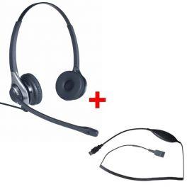 Pack: OD HC 45 Headset + Cleyver USB70-Kabel