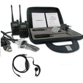 Dynascan R10 Koffer + 2 MA010 Ohrbügel-Kopfhörer