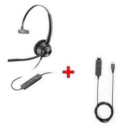 Plantronics EncorePro 310 QD + USB80-Kabel