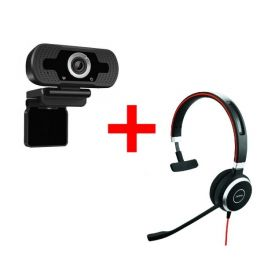 Jabra Evolve 40 MS Mono + HD USB Webcam