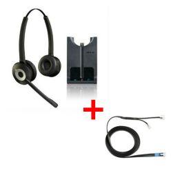 Pack für Siemens: Jabra Pro 920 Duo + EHS-Kabel