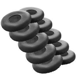10 Stk. Ohrpolster für Jabra Evolve 20, 30, 40 & 65 Headsets