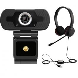 Jabra EVOLVE 20 MS Stereo mit Webcam