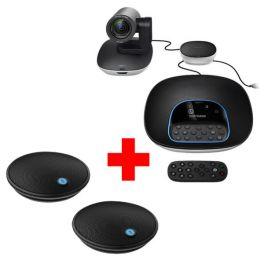 Group Konferenzsystem mit Zusatzmikrofonen