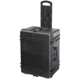 Koffer mit resistenten Rädern