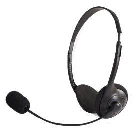Duo-Headset mit Soundkarten-Anschluss (3,5 mm Klinke)