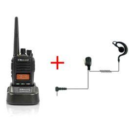 Midland G18 + Ohrhaken-Headset
