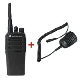 Motorola DP1400 + PTT Mikrofon