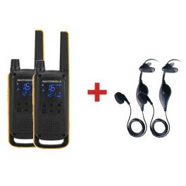 Motorola TLKR T82 Extreme + 2 Kits portátiles