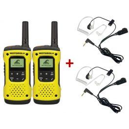 2er Set Motorola T92 H2O + 2 Bodyguard Headsets