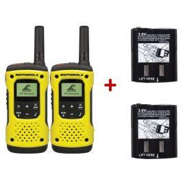 2er-Set Motorola T92 + 2 Hochleistungs-Ersatzbatterien