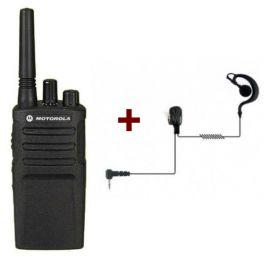 Motorola XT420 + Ohrhaken Headset