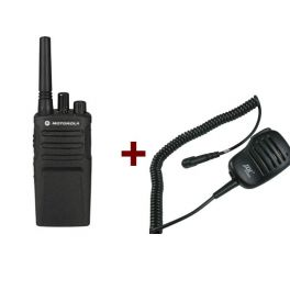 Motorola XT420 + Lautsprechermikrofon JD500MX