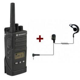 Motorola XT460 + Headset Ohrhaken
