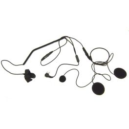 Helm-Mikrofon kompatibel mit Motorola 2-Pins Funkgeräten