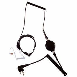 Motorola Headset mit Kehlkopfmikrofon für 2 Pin-Funkgeräte