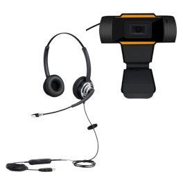 Cleyver HC65 Duo  + USB-Webcam für PC