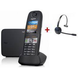 Pack: Gigaset E630 + Cleyver HW10 Headset