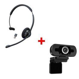 Cleyver HW60 UC + Webcam USB HD Desktop