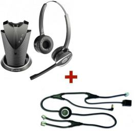 FreeVoice Fox FX810B Duo DECT + EHS-Kabel