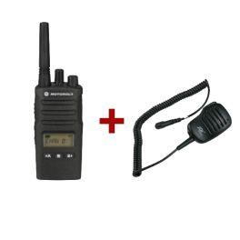 Motorola XT460 + Lautsprecher-Mikrofon-Kombination