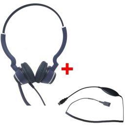 Pack: Cleyver HC25 QD Duo + Cleyver USB70-Kabel