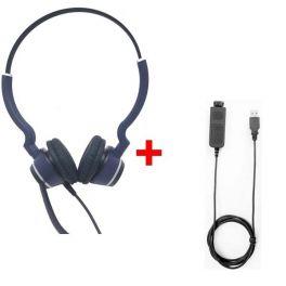 Pack: Cleyver HC25 QD Duo + Cleyver USB80-Kabel