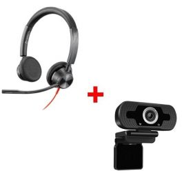 Plantronics Blackwire 3325 USB-A + Webcam USB HD Desktop