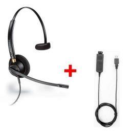 Plantronics EncorePro HW510V + USB80-Kabel