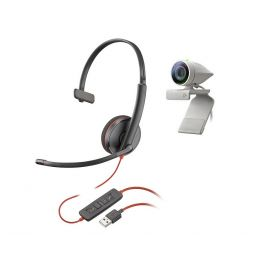 Kit Poly Studio P5 + Blackwire 3210 USB-A