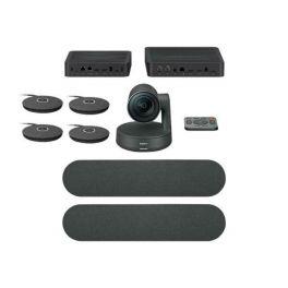 Pack: Logitech Rally Plus + 2 Mikrofon-Pods