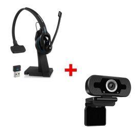 Sennheiser MB Pro 2 UC ML + Webcam USB HD Desktop
