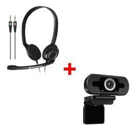 Sennheiser PC 3 Chat + Webcam USB HD Desktop