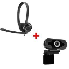 Sennheiser PC 5 Chat + Webcam USB HD Desktop