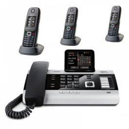 Pack: Gigaset DX800A + 3 x Mobiltelefone R650H