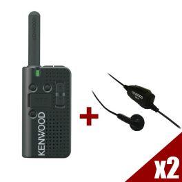 Pack: 2er Set Kenwood PKT-23E + 2 Kit KHS33 - raus