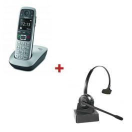 Gigaset E560 + Headset Cleyver HW10