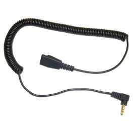 freeVoice QD-Anschlusskabel mit 3,5 mm Anschluss