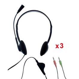 3er Pack: T'nB First Headset