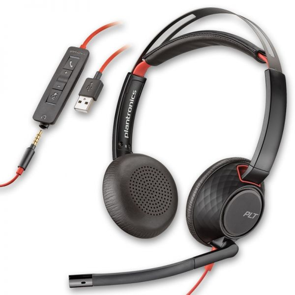 Plantronics Blackwire 5220 USB-A + 3,5mm-Klinkenanschluss