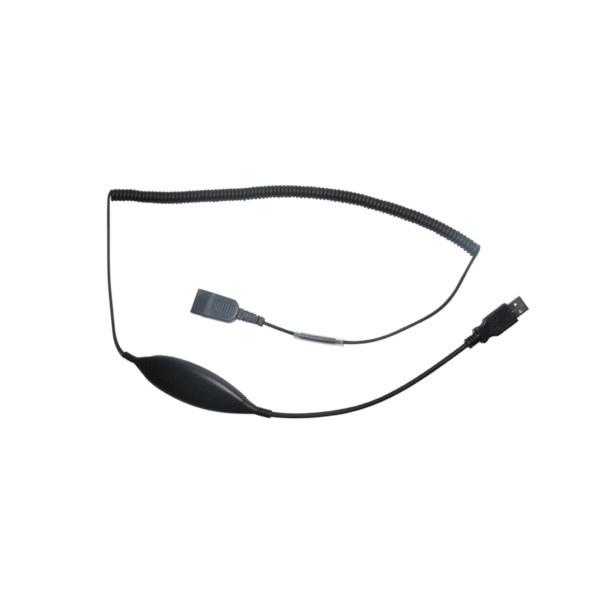 USB-Adapterkabel DSU08M mit QD-Anschluss Plantronics