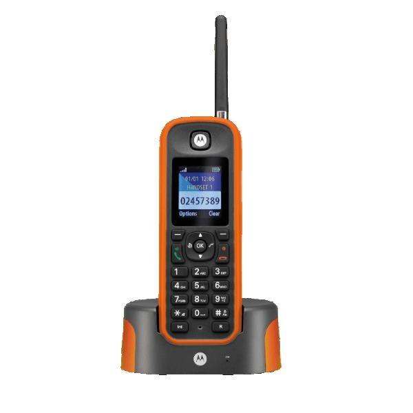 Motorola O201 Orange mit enormer Reichweite