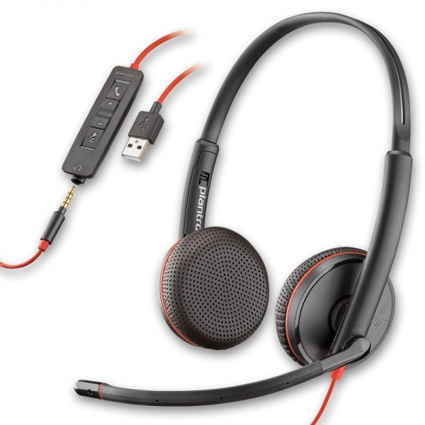 Plantronics Blackwire 3225 USB y Jack