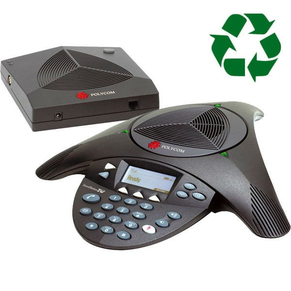 Polycom Soundstation 2 NE Wireless - generalüberholt